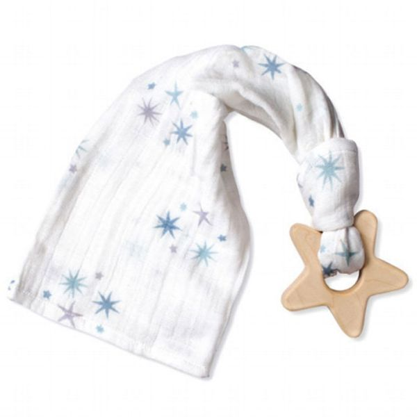 Aden + Anais Prince Charming - Starburst Teething Toy