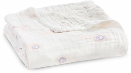Aden + Anais Silky Soft Dream Blanket - Featherlight, Dainty Plume