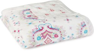 Aden + Anais Silky Soft Dream Blanket - Flowerchild Kaleidoscope