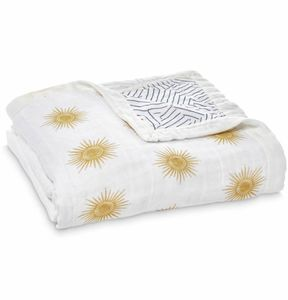 Aden + Anais Silky Soft Dream Blanket - Golden Sun