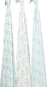 Aden + Anais Silky Soft Swaddle - 3 Pack - Sleepy Seychelles