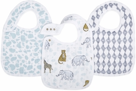 Aden + Anais Snap Bibs, 3 Pack - Jungle