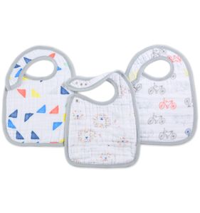 Aden + Anais Snap Bibs, 3 Pack - Leader of the Pack