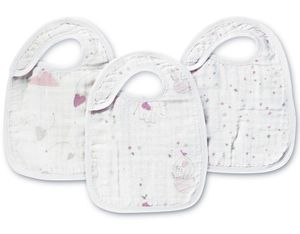 Aden + Anais Snap Bibs, 3 Pack - Lovely
