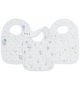 Aden + Anais Snap Bibs, 3 Pack - Night Sky