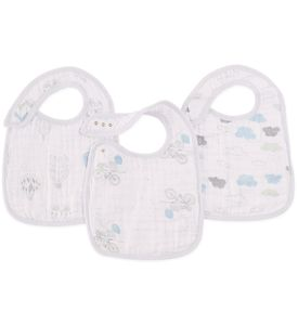Aden + Anais Snap Bibs, 3 Pack - Night Sky Reverie