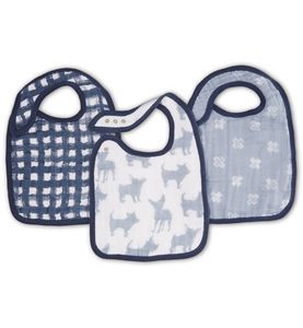 Aden + Anais Snap Bibs, 3 Pack - Waverly