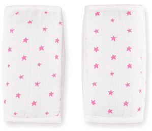 Aden + Anais Strap Covers - Fluro Pink