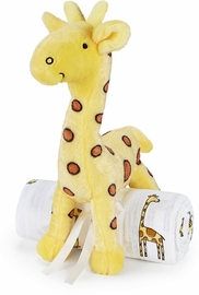 Aden + Anais Swaddle & Toy Giraffe - Jungle Jam