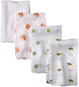 Aden by Aden + Anais SwaddlePlus 4 Pack - Life's a Hoot
