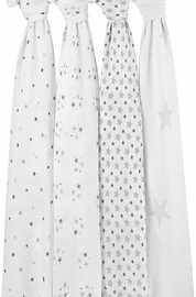 Aden + Anais Classic Swaddle Wraps, 4 Pack - Twinkle