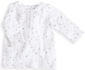Aden + Anais Tunic Top - Lovely Starburst (0-3 Months)