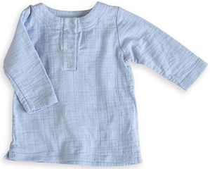 Aden + Anais Tunic Top - Night Sky Blue (0-3 Months)