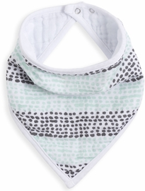 Aden + Anais White Label Bandana Bib - Seaside