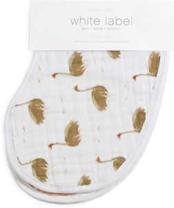Aden + Anais White Label Burpy Bibs - 2 Pack - Flock Together