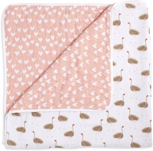 Aden + Anais White Label Dream Blanket - Flock Together