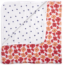 Aden + Anais White Label Dream Blanket - Flora