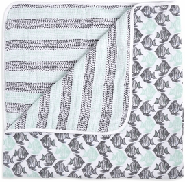 Aden + Anais White Label Dream Blanket - Seaside