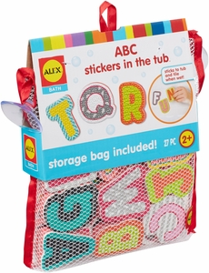 ALEX Toys ABC Stickers in the Tub