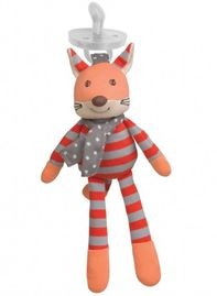 Apple Park Pacifier Buddy - Frenchy Fox
