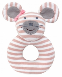 Apple Park Teething Rattle - Ballerina Mouse