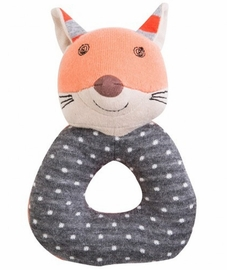 Apple Park Teething Rattle - Frenchy Fox