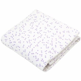 Auggie Fitted Sheet in Astrid Lilac