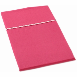Auggie Pillow Case in Solid Pink