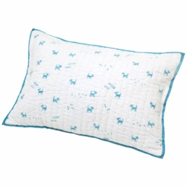 Auggie Quilted Decorative Pillow Cover - Felix