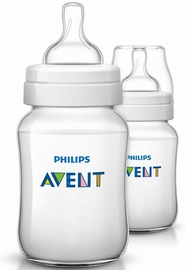 Avent Anti-colic 9 oz. Bottle, 2 Pack - Clear