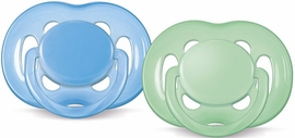 Avent Freeflow Pacifiers 6-18 Months Boy