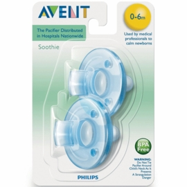 Avent Soothies 0-3 Months in Blue