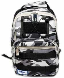 Babiators Rocket Pack Kid Backpack - Galactic Gray Camo