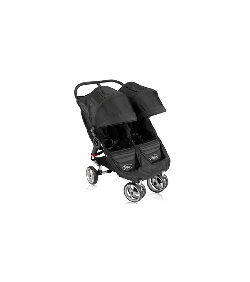 Baby Jogger 2011 City Mini Double In Black