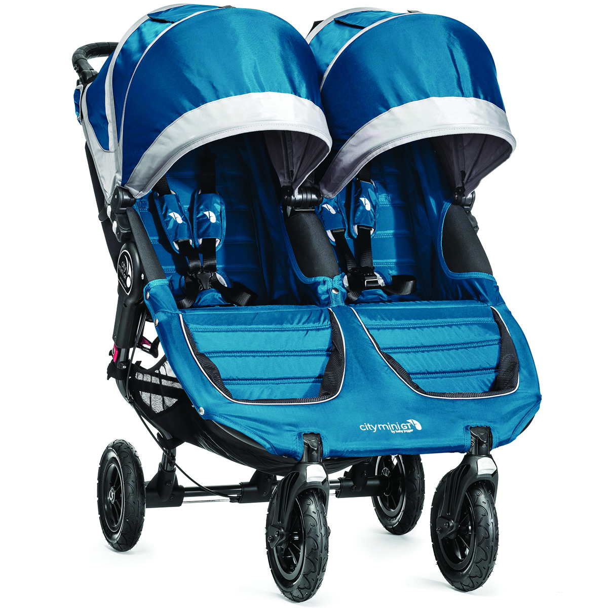 Baby Jogger 2015 City Mini GT Double - Teal/Gray