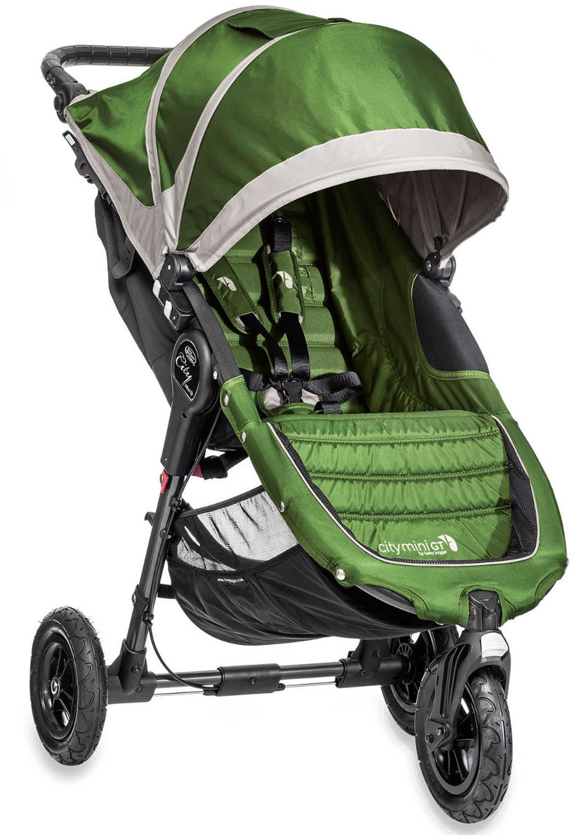 Baby Jogger 2014 2015 City Mini Gt Single Lime Gray