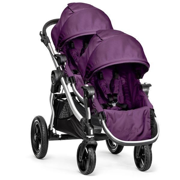 Baby Jogger City Select Double Stroller - Amethyst