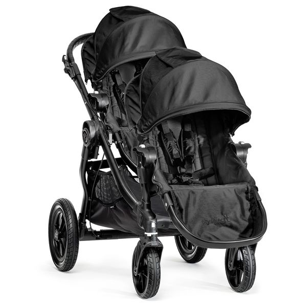 Baby Jogger City Select Double Stroller - Black