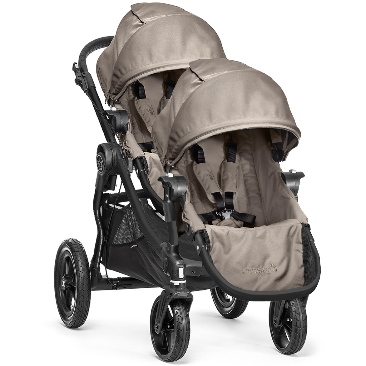 Baby Jogger City Select Double Stroller - Sand (2014)