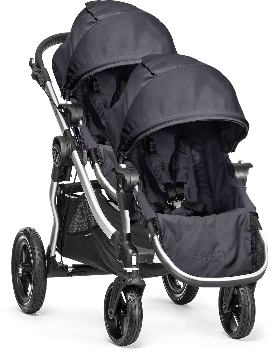 Baby Jogger City Select Double Stroller Titanium