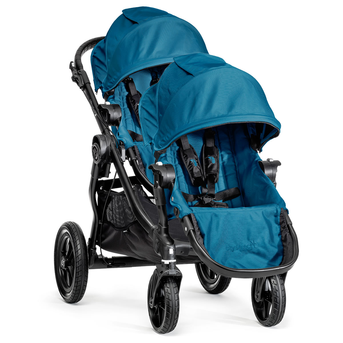Baby Jogger City Select Double Stroller Teal