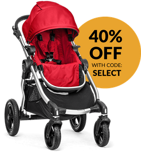 Baby Jogger City Select Single Stroller 2015 Ruby