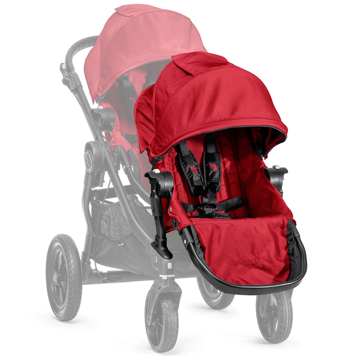 f51096776ce9 Baby Jogger City Select Second Seat Kit - Red