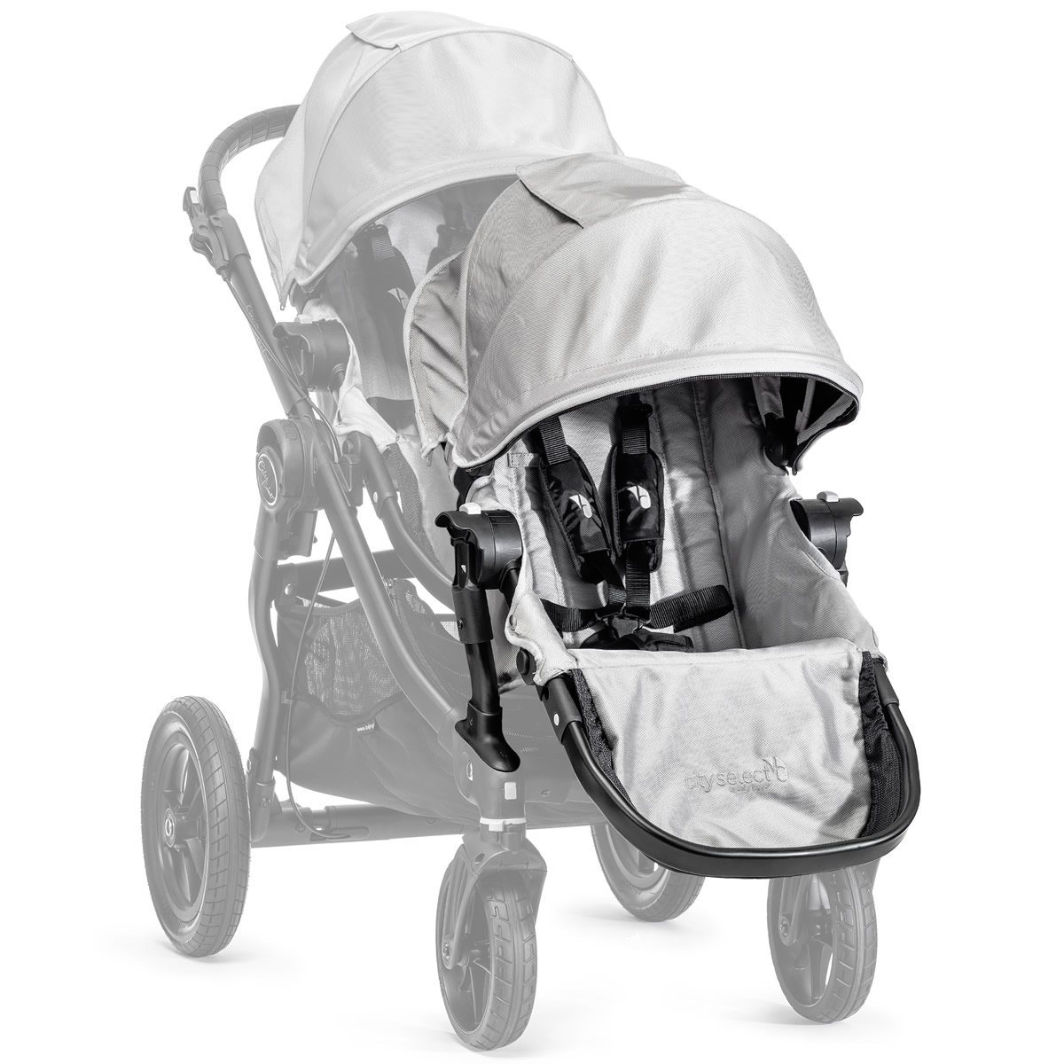 eee1daa6f46a Baby Jogger City Select Second Seat Kit - Silver