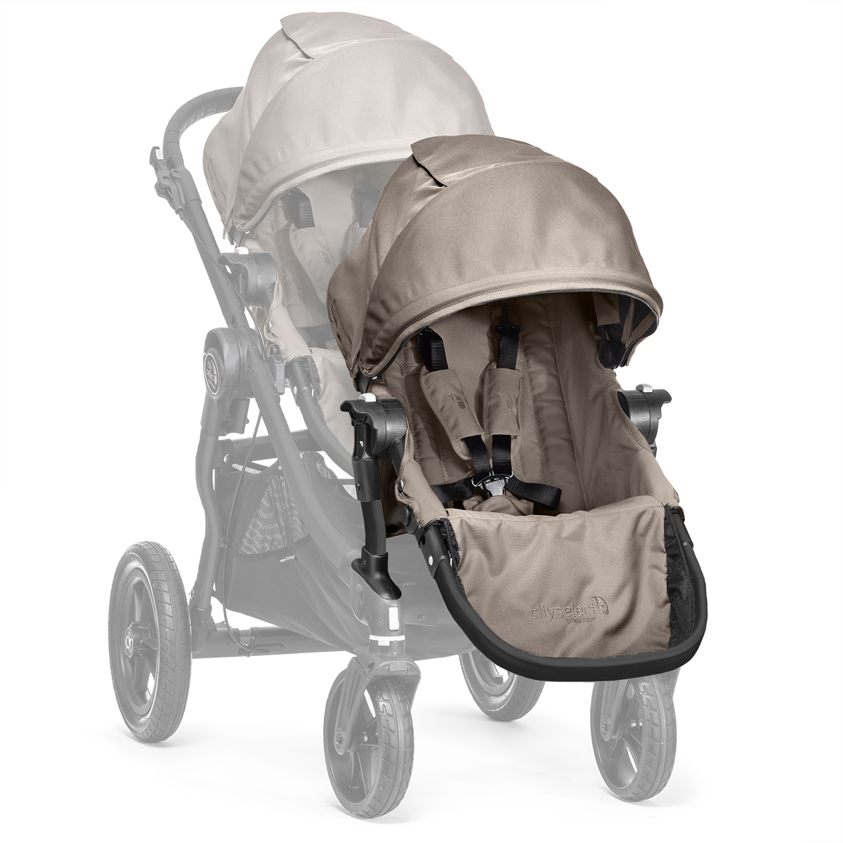 Baby Jogger 2014 City Select Second Seat Sand