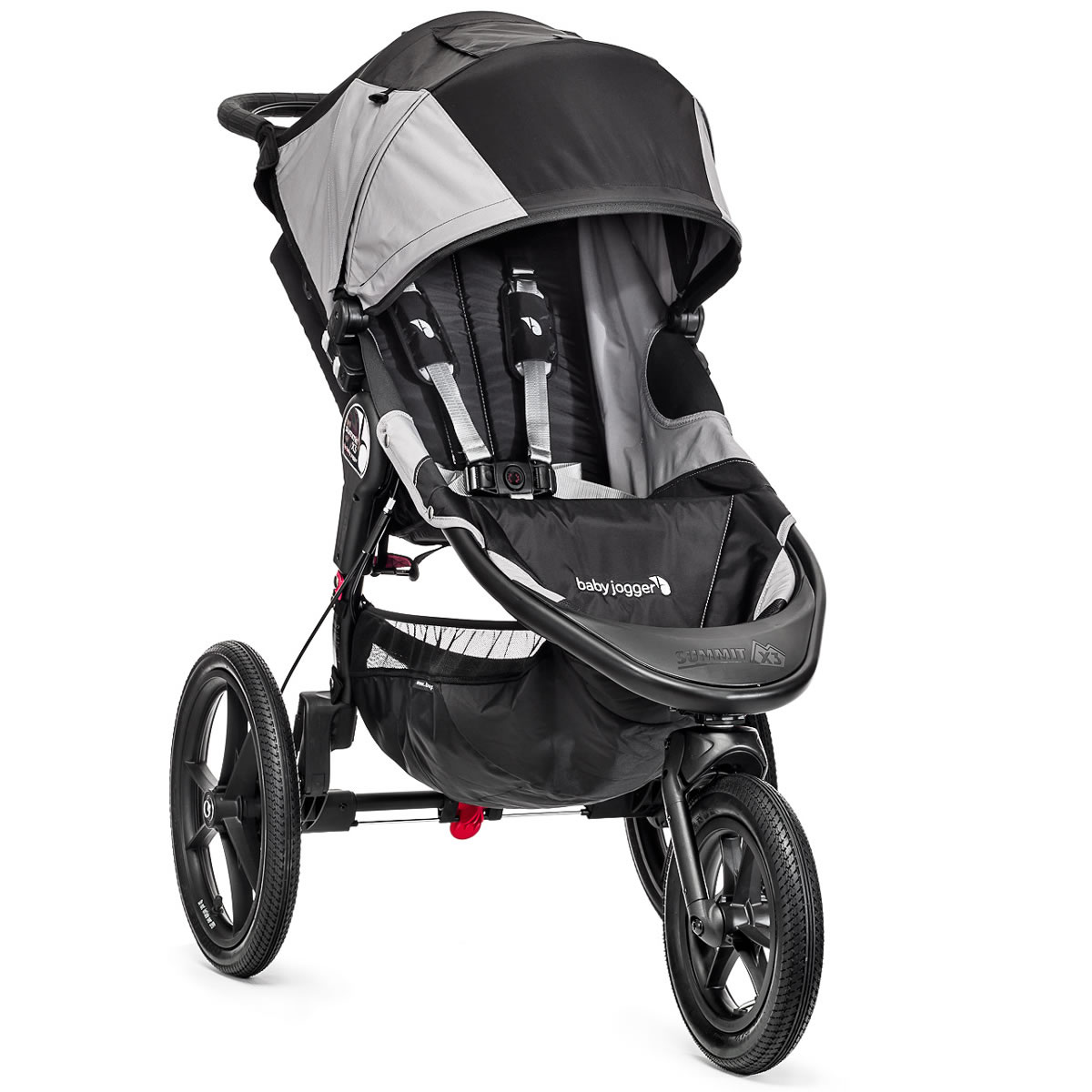 Baby Jogger Summit X3 Single 2015 Black Gray