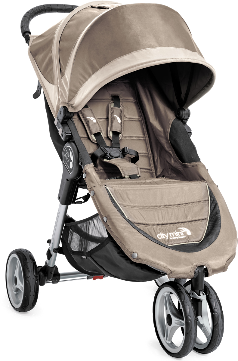 Baby Jogger 2016 2017 City Mini Single Stroller Sand Stone