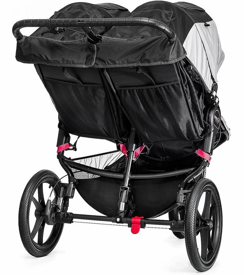 Baby Jogger 2016 Summit X3 Double Jogging Stroller Black