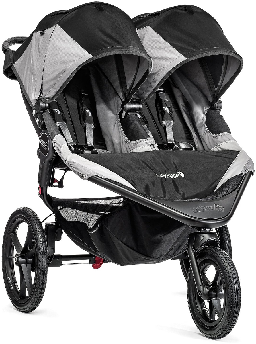 Baby Jogger 2016 Summit X3 Double Jogging Stroller - Blac...