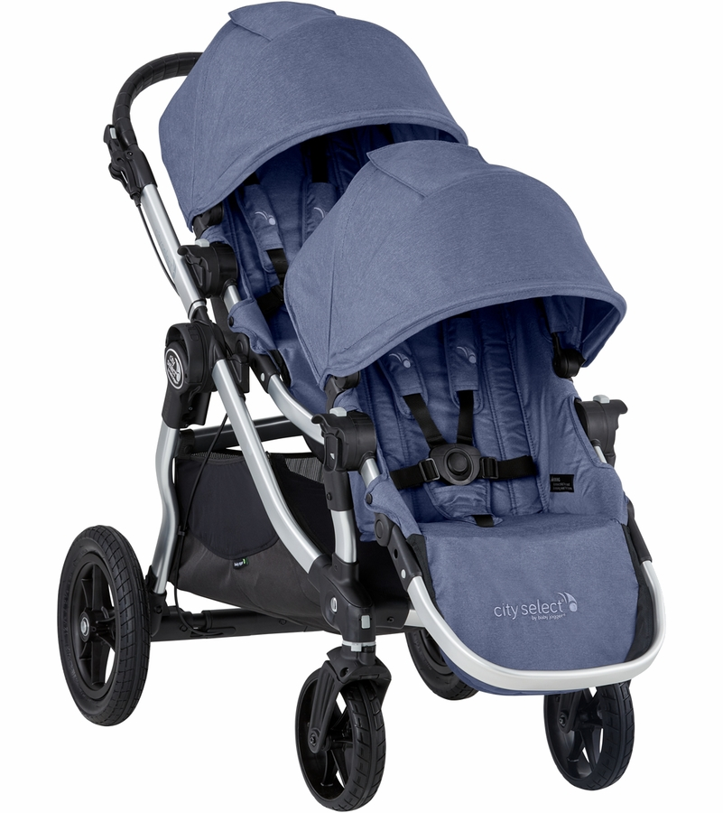 Baby Jogger 2019 City Select Double Stroller Moonlight